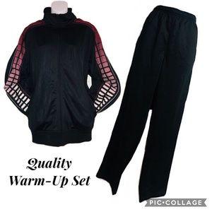 NWOT Men's Sport-Tek® Track Jacket & Pant Set- Lg